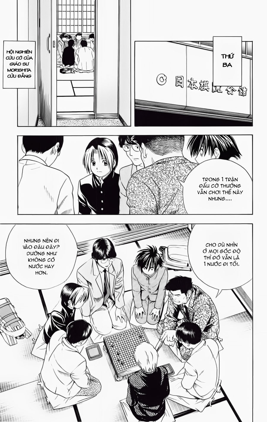 Hikaru No Go hikaru no go chap 53 trang 14