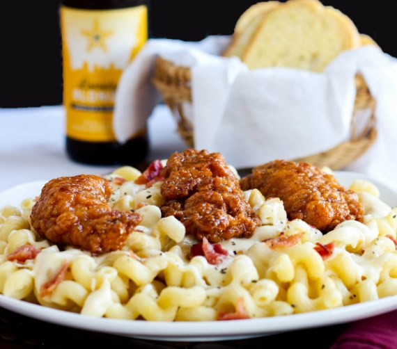 HONEY PEPPER CHICKEN MAC AND CHEESE #Dinner #DeliciousRecipe