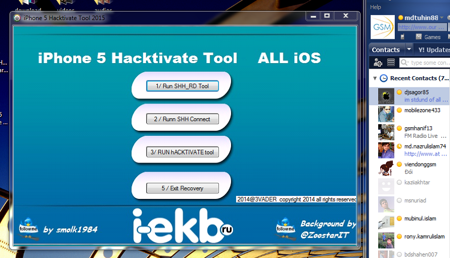 TOOL 4 ALL GRATUIT HACKTIVATE IOS TÉLÉCHARGER IPHONE