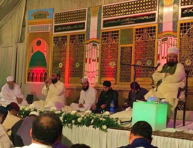 mehfil e naat karachi pakistan speech allama kokab noorani okarvi