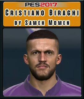 PES 2017 Faces Cristiano Biraghi by Sameh Momen