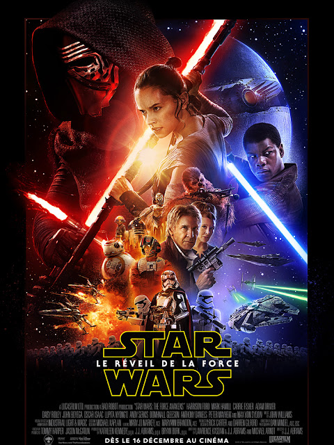Affiche Star Wars, le Réveil de la Force