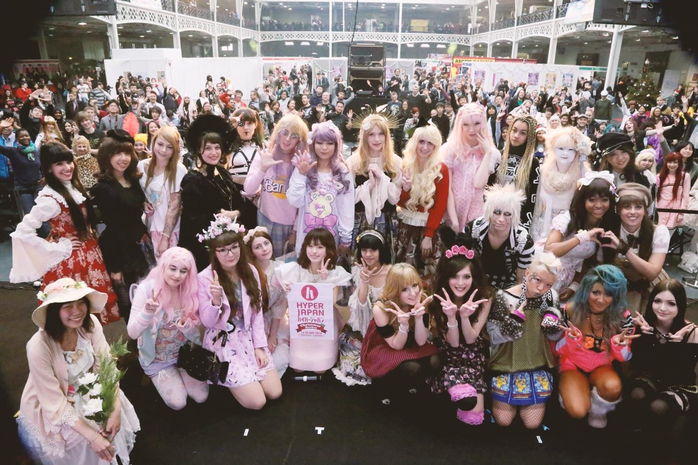 jfashio show, hyper japan fashion show