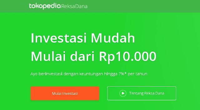 Tutorial Lengkap Cara Mendaftar Reksa Dana Tokopedia Investasi