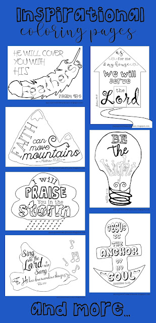 free coloring pages with Bible verses on them