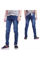 Alfacart Celana Panjang Jeans Kick Biru Wash ANDHIMIND