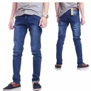 Celana Panjang Jeans Kick Biru Wash