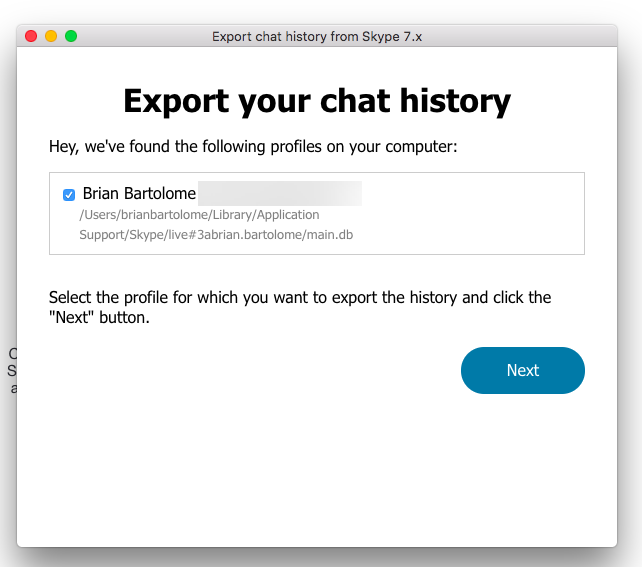 Updated Skype for Linux and macOS Part 1