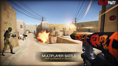 Bullet Party CS 2  Apk Mod Money + Ammo Update Terbaru