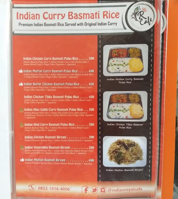 Indian Royal Cafe Di Bogor