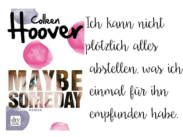 REZENSION||MAYBE SOMEDAY~COLLEEN HOOVER