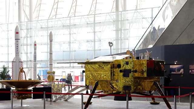 El rover chino Yutu-2 realiza un insólito hallazgo en la cara oculta de la Luna