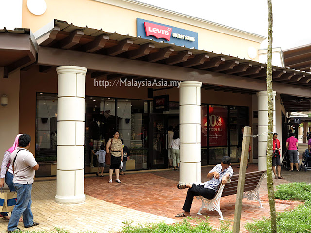 Malaysia Levi's Outlet Store