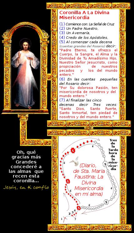 divina misericordia oracion