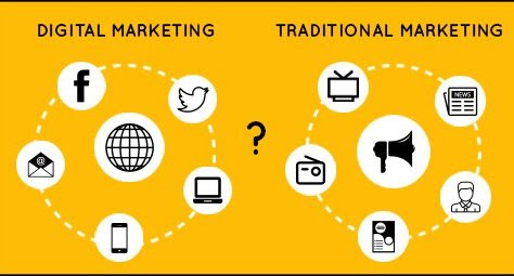 Introduction of Marketing - Digital Marketing Vs Traditional Marketing!