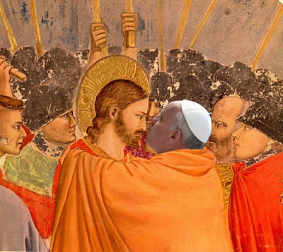 """Proof that Athanasius I was """"Peter the Roman""""... Francis%2Bkiss"""