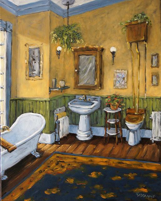 The forgotten Studio The bathroom