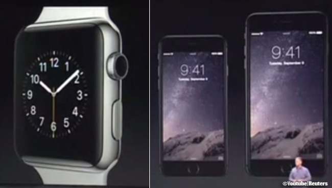 Apple Inc. Unveiled Apple Watch, iPhone 6 and iPhone 6 Plus Last September 9, 2014 [Video]
