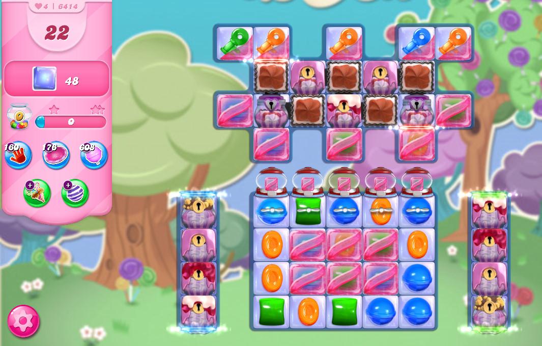 Candy Crush Saga level 6414