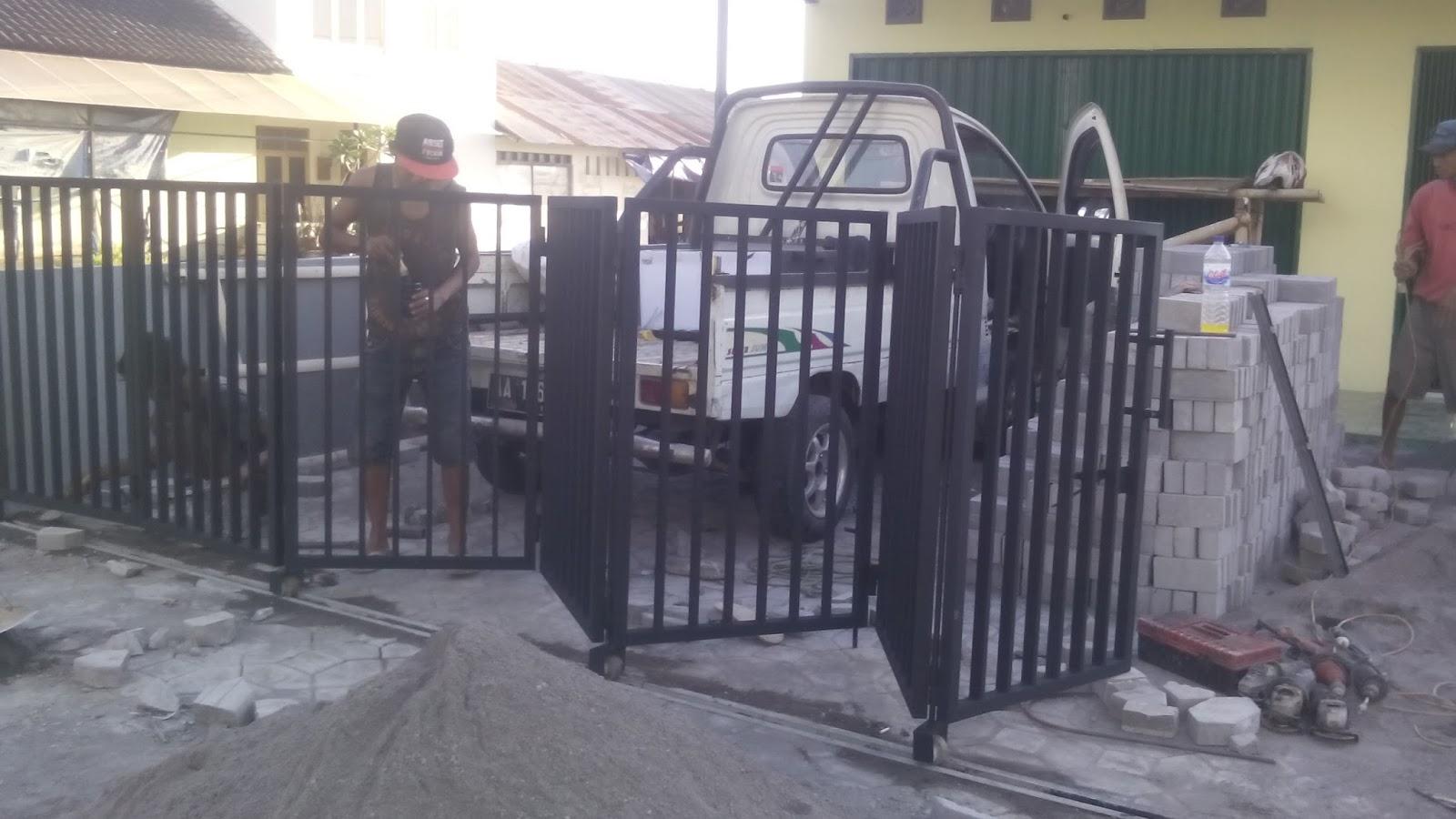 kanopi baja ringan tangerang gambar pagar rumah dari   desain