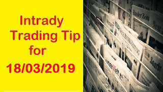 Investing Guide | Indian Stock Market Intraday Trading Tips for Monday - 18/03/2019