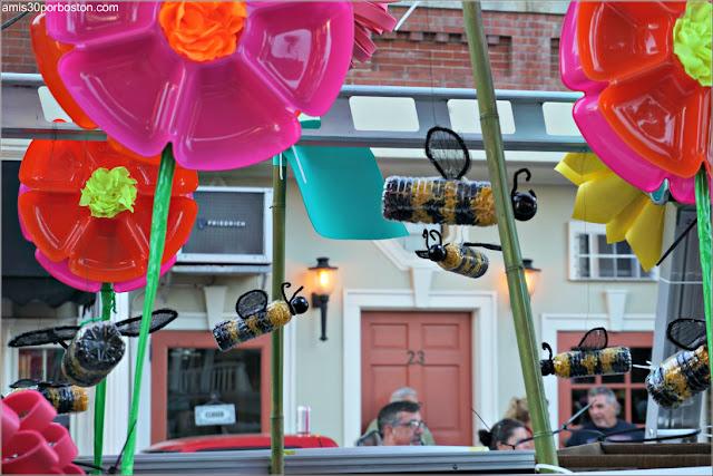 Desfile del 4 de Julio en Rockport: Club Jardinería