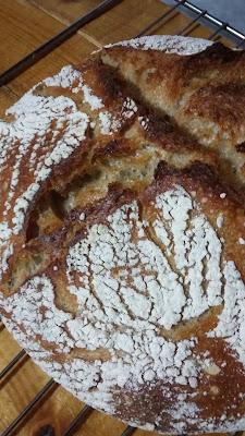 20160103 213656 - Baştan Sona;''Bir Ekmek Yapmak'' (Bu Kez Çavdar Unu Kullanarak)