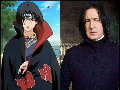 Persamaan Harry Potter dan Naruto