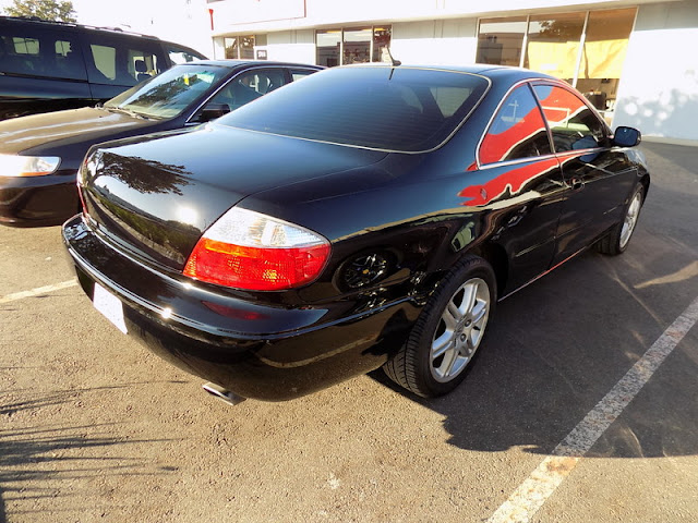 Acura CL after whole car paint job at Almost Everything Auto Body