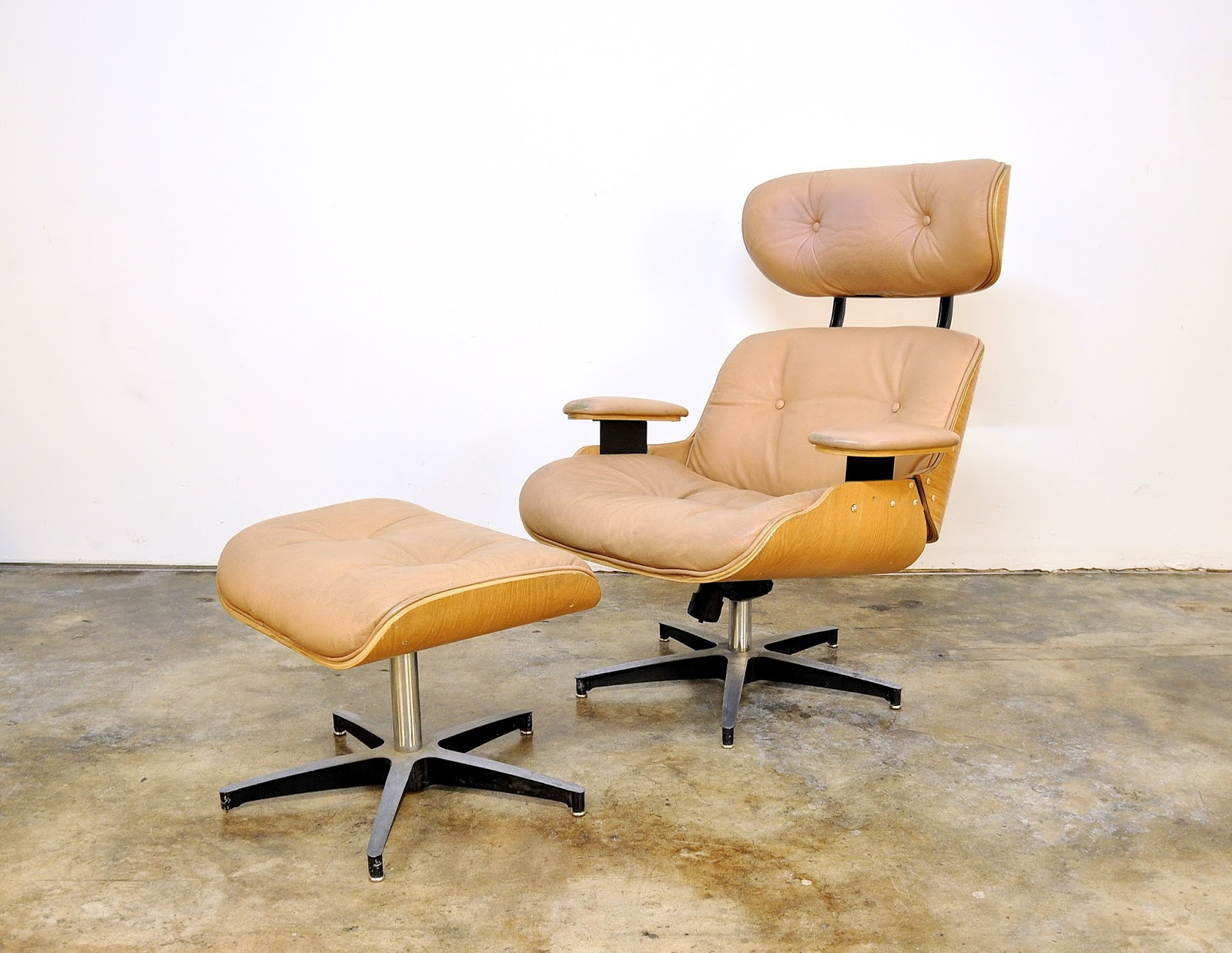 selig plycraft lounge chair parts eezy revolving select modern eames style leather