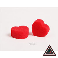 Jual alat sulap sponge heart