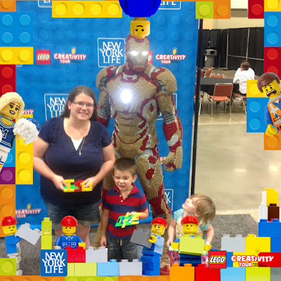 Quick Tips for the Des Moines LEGO Creativity Tour - Freebies, Photo Opportunities at Community Build