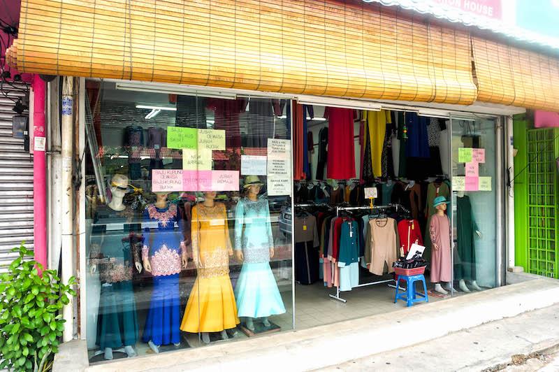 ubrania w Malezji, moda w Malezji, sklep w Malezji