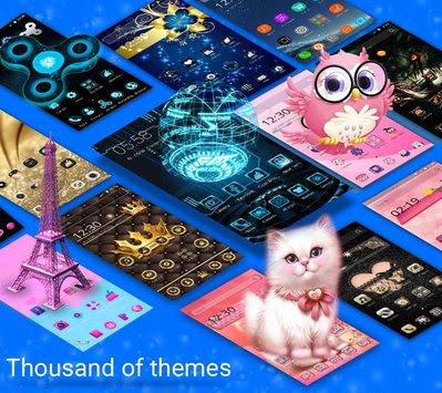 CM Launcher 3D - Tema Premium Android