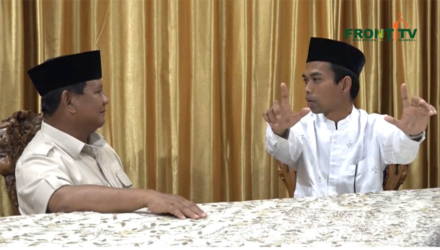 UAS dukung Prabowo