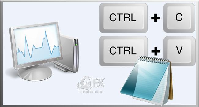 Windows Görev Yöneticisinden Performans Bilgilerini Kopyala - www.ceofix.com