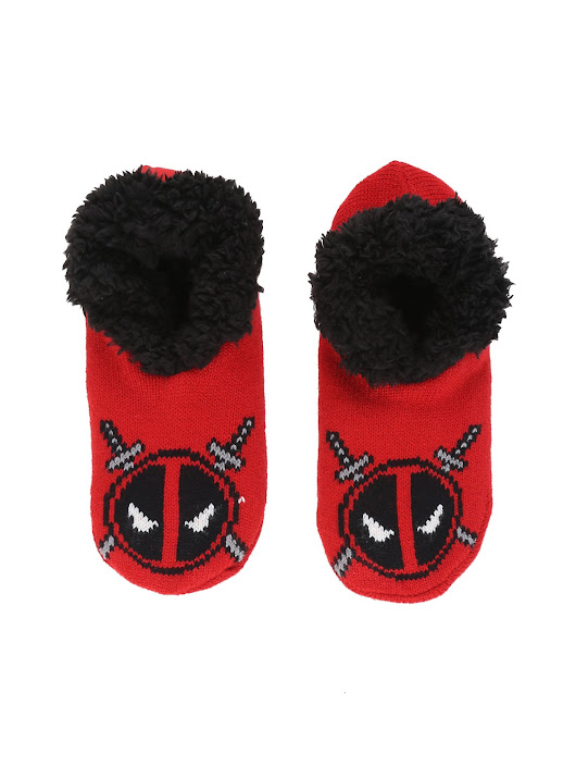 Deadpool Knit Slippers