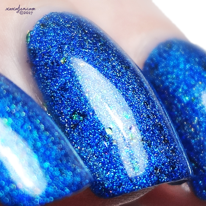 xoxoJen's swatch of KBShimmer - Navy Or Not, Here I Come