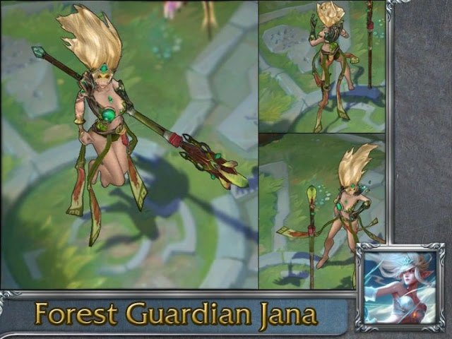 Mod Skin Janna Forest Guardian