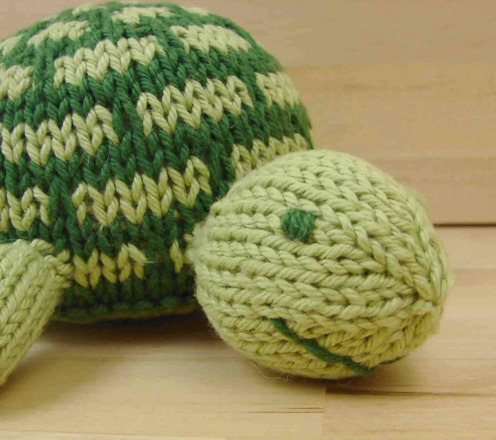 Knitting Patterns Turtle Toy : Auntie Ems Studio: August 2016
