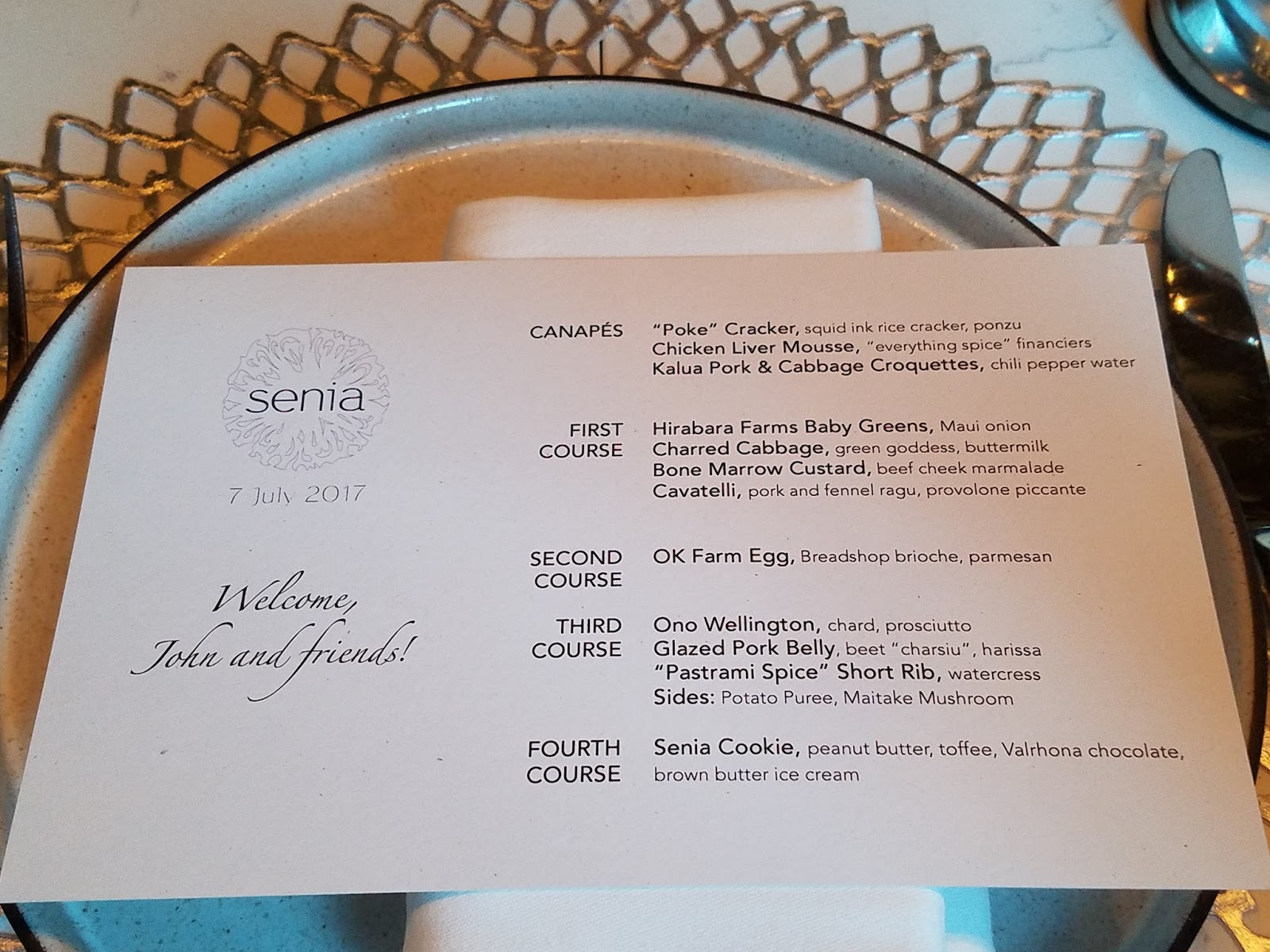 Dual Birthday Celebration @ Senia\'s Private Dining Room   The ...