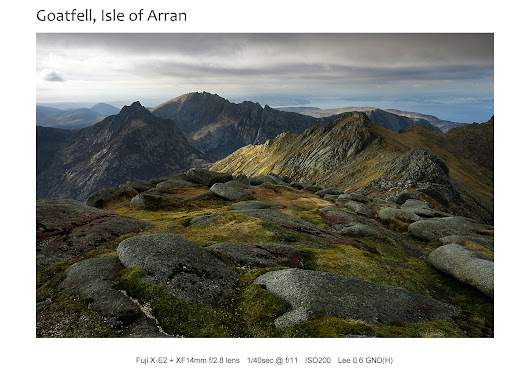 Behind the shot: Wildcamp on Goatfell, Isle of Arran