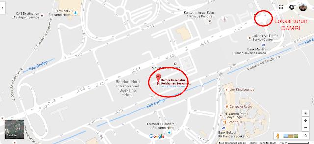 Lokasi Kantor Kesehatan Pelabuhan Soekarno-Hatta Jakarta