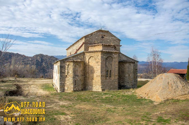 St. Nicholas church in Manastir village, Mariovo, Macedonia