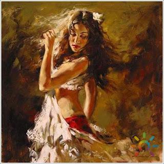 Χορεύτρια.