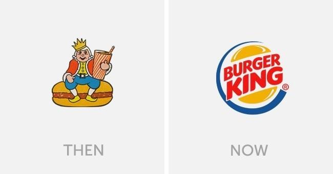 logo burger king dulu dan sekarang