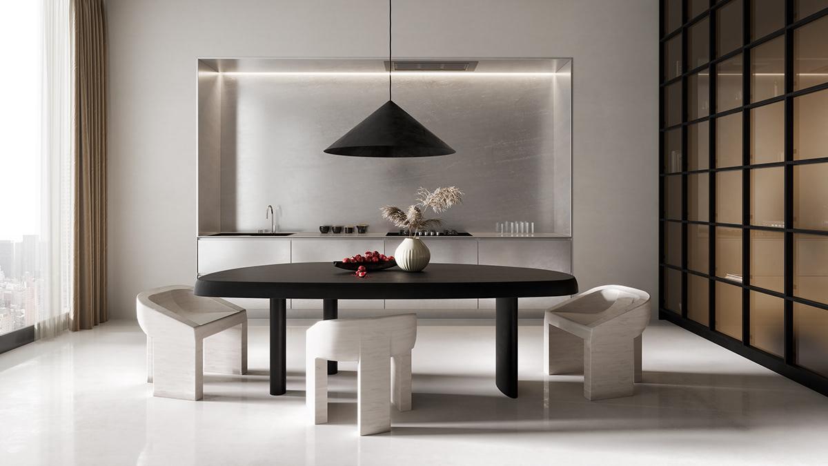 Appartamento in stile zen e moderno a new york arc art for Appartamento stile moderno