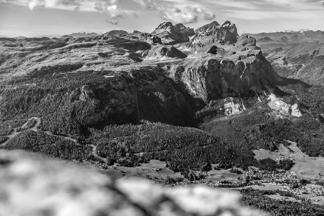 Landschaft Piz Züber MTB