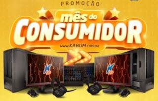 Cadastrar Promoção Kabum 2018 Mês do Consumidor Dois Super Computadores