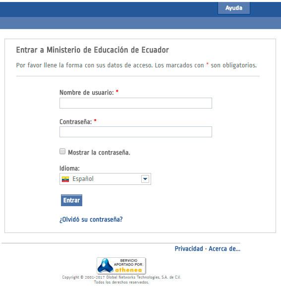 Consultar Notas de Estudiantes Ministerio de Educación Ecuador  www.educarecuador.gob.ec